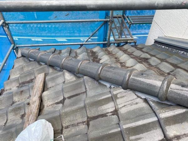 棟取り直し工事 なんばん漆喰と人工木を使用 工事後