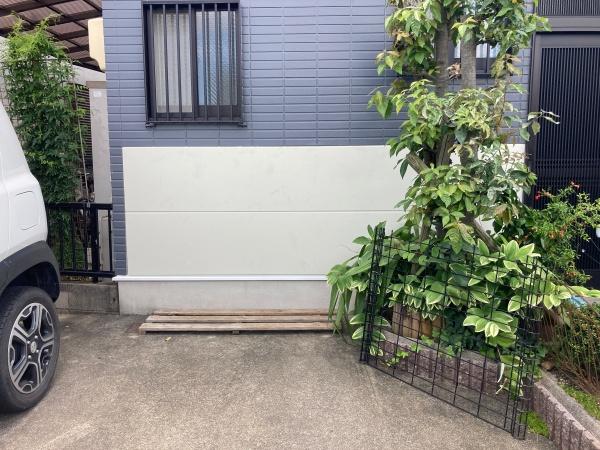 春日井市で部分的な外壁張替え補修と塗装工事をしました