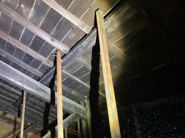 屋根裏の確認