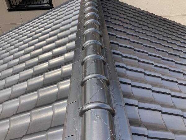 北名古屋市で屋根点検 きっかけは訪問業者による漆喰の指摘でした