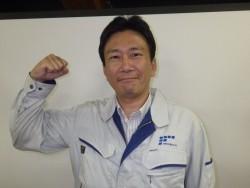 篠原主任の写真