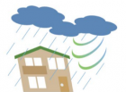 台風後点検・屋根点検・壁点検